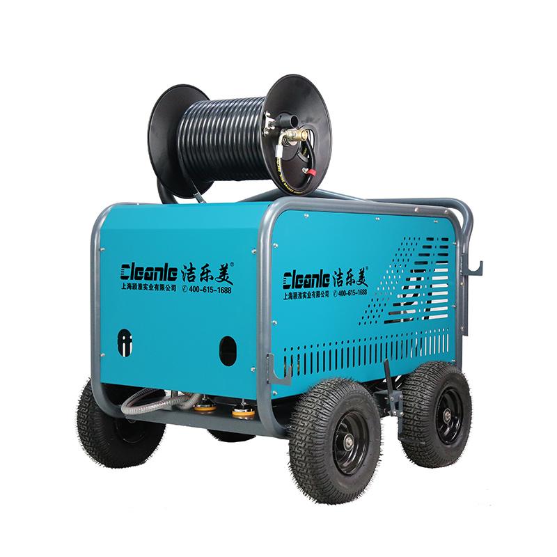 cleanle/洁乐美ST2041ET管道疏通机 200kg大功率电动下水道清洗机 移动式高压清洗机