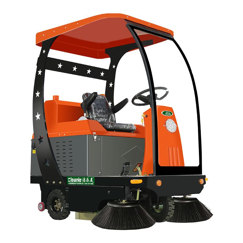 cleanle/洁乐美KM-1450A电动扫地车 滚筒式清扫车 市政环卫道路清扫车