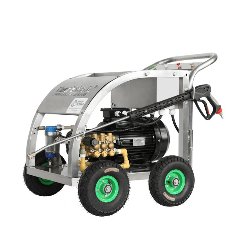 cleanle/洁乐美E2815R移动式冷水洗车机_380V电动清洗机
