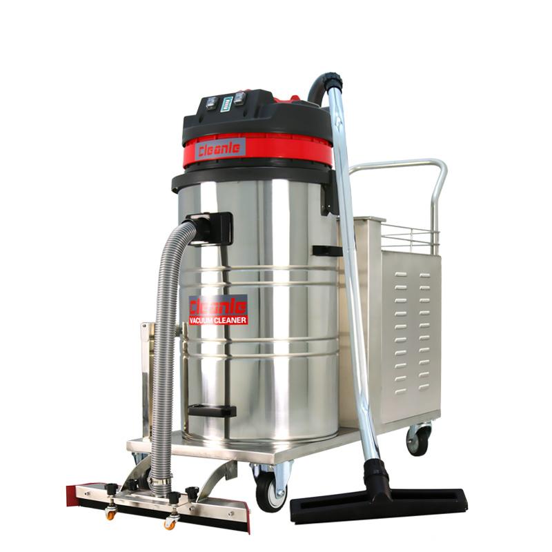cleanle洁乐美GS-1580XP吸尘器_电瓶式工业吸尘器_工厂用大功率吸尘吸水机