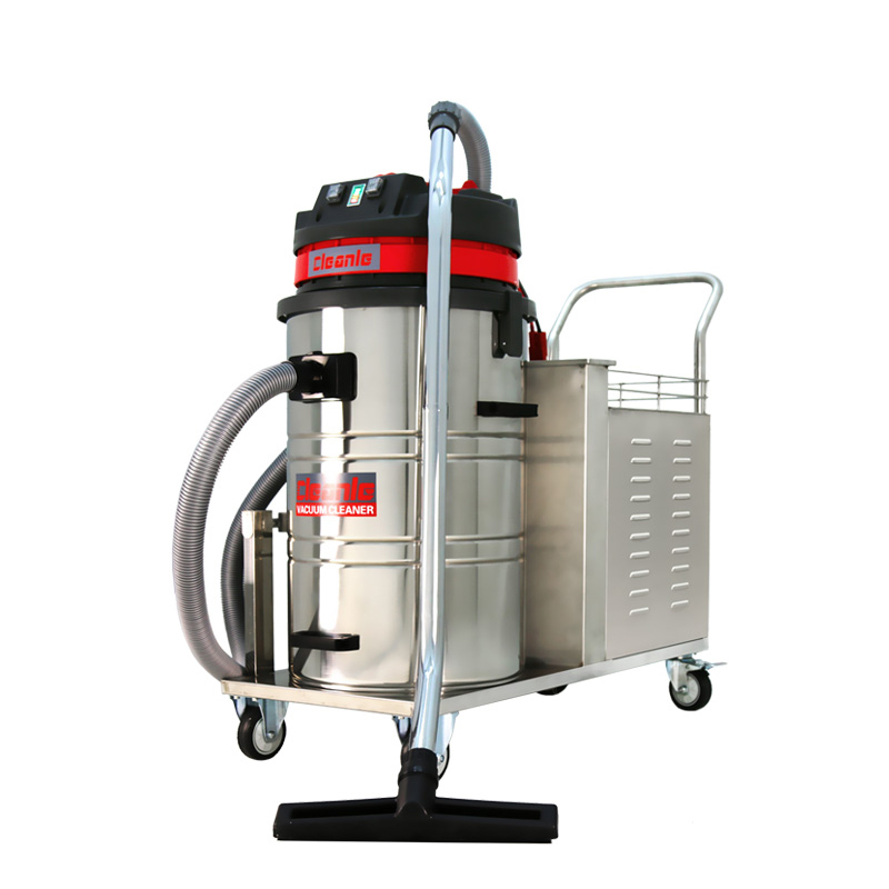 cleanle洁乐美工业吸尘器_仓库车间用大功率吸尘器_GS-1580X电瓶式吸尘器