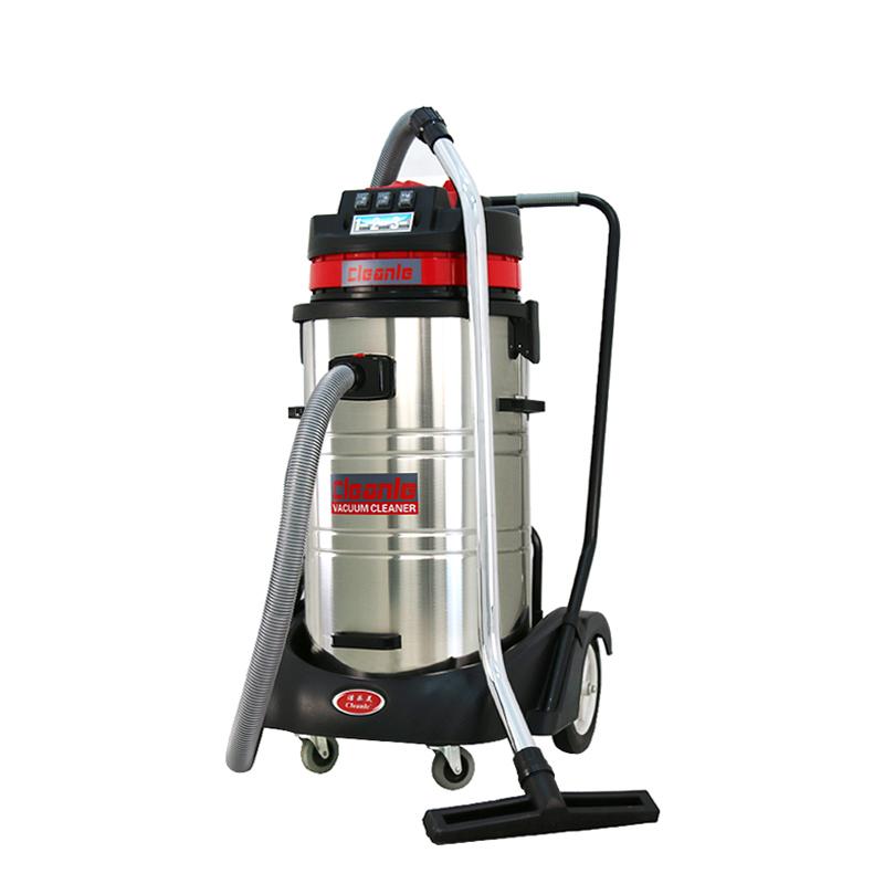 cleanle洁乐美吸尘器_上海大功率吸尘器_干湿两用80L吸尘器GS-3078SA