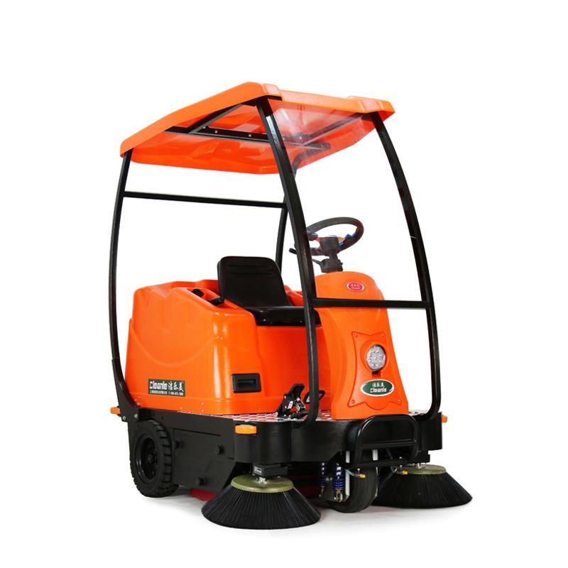 cleanle/洁乐美KM-V3扫地机  物业保洁用清扫车 室外垃圾清扫车