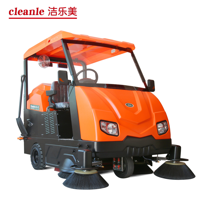 cleanle/洁乐美驾驶式扫地机 KM-V6驾驶式清扫车 小区物业保洁用充电式扫地车