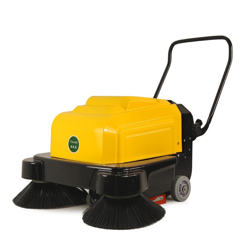 cleanle洁乐美扫地机_电动手推扫地机_小区物业室外清扫车KM1050S