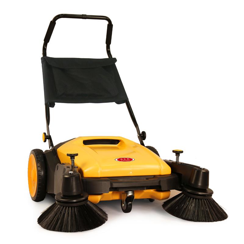 cleanle洁乐美扫地机_上海手推式双刷清扫机_无动力工业型KM92/40