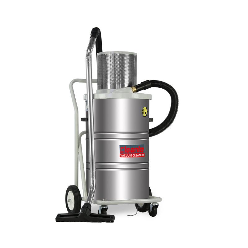 防爆工业吸尘器 洁乐美AS-EX80气动防静电吸尘机 21区粉尘金属吸尘设备