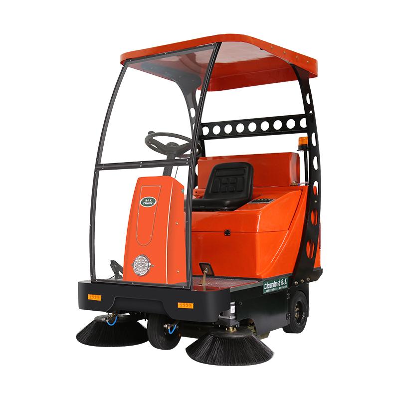 cleanle/洁乐美YSD-1450A电动扫地车 滚筒式清扫车 市政环卫道路清扫车