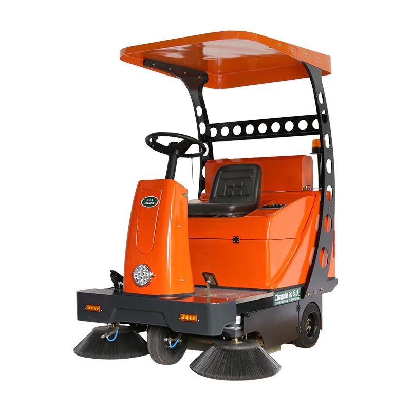 cleanle/洁乐美YSD-1450B驾驶式扫地机 场区用电动清扫车 村庄道路吸尘清扫生活垃圾回收车