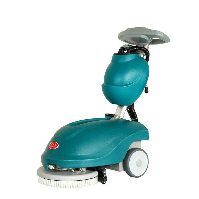 cleanle洁乐美洗地机_上海迷你洗地机_小型折叠洗地机YSD-350